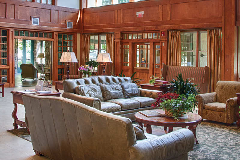 senior living, the lounge at the lodge