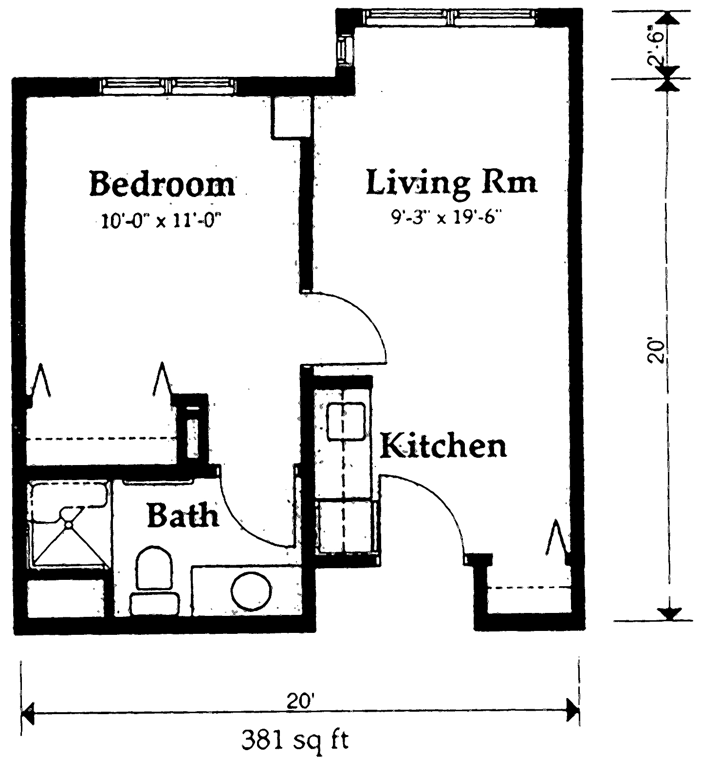 assisted living room layout 2