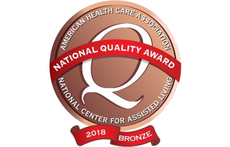 American Health Care Association Bronze Award 2018