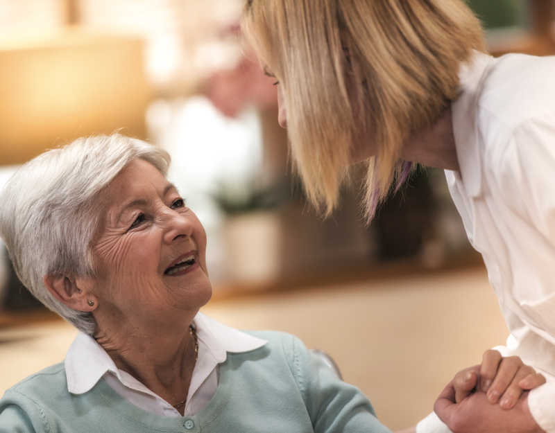 long term care provider and patient