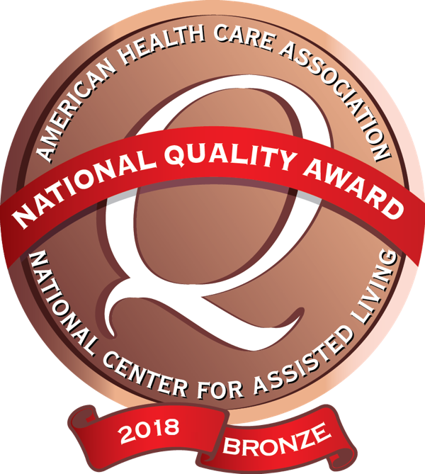 assisted living bronze award